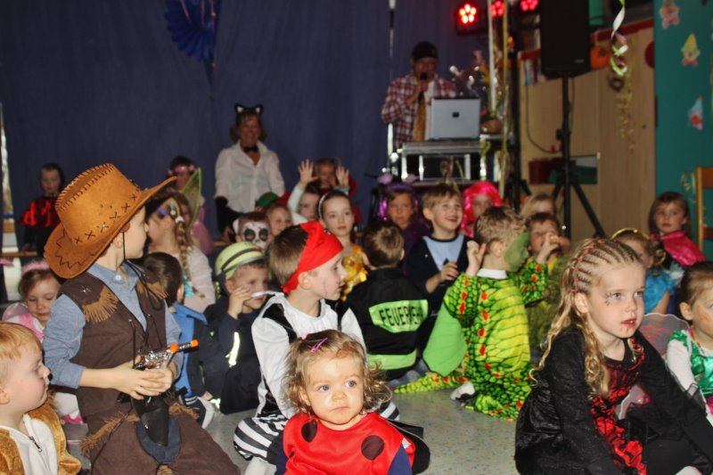 Kinderfasching in Klink 2017