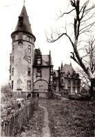 Schloss Klink 1951 Ruine
