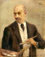 Max Liebermann 1912 - Selbstbildnis
