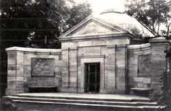 Mausoleum der Familie Martius in Kiel