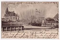 Schiff Woglinde, alte Zeichnung